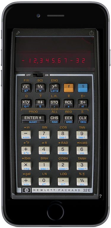 RPN-32 CE - An HP-32 Simulator for iOS Devices